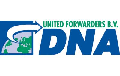 Expediteuren Logo DNA United Forwarders