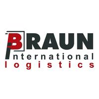 Spedition Logo Braun