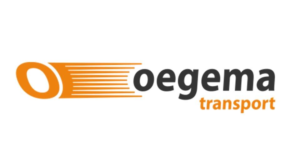 Oegema vervoerder logo
